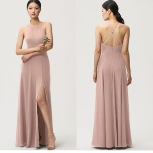 Jenny Yoo Collection pink Kayla gown size 14